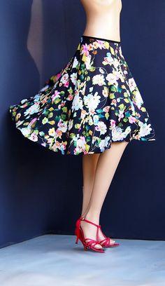 td 014 tango flowers skirt