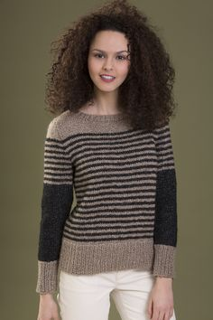 Spirit Pullover in ZONA http://tahkistacycharles.com/t/pattern_single?products_id=2337