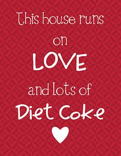 Diet Coke Printable!