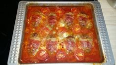 Cooked out of the oven Source by ilympius Mozzarella, Low Carb Meats, Meat Rolls, Zucchini Pasta, Cooking Recipes, Healthy Recipes, Meatloaf, Main Dishes, Bacon