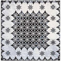 storm at sea quilts | ... Susan Varanka. In: Beautiful in black and white at Quilt Inspiration