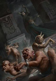 demons fantasy art