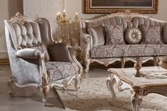 Inci Sofa Set Handmade Turkish Furniture You Can Give Order This 3