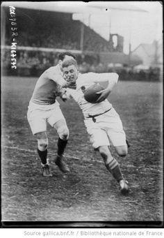 31-1-20, rugby, match France-Angleterre [à Twickenham] : [photographie de presse] / [Agence Rol] - 1