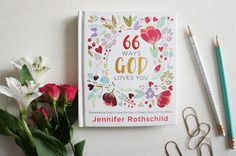 God's Word is many things – instructive, historical, poetic. Yet to Jennifer Rothschild, the Bible is also an incredible love letter. In 66 Ways God Loves You, she walks you through each of the sixty-six books of the Bible and shows, in concise and thoughtful ways, how every book reflects God's love for each of us. If you want to experience God's love through every book of the Bible. Come experience His love in ways you never expected. This is one really incredible message!