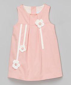 Pink Floral Sleeveless Babydoll Dress - Infant, Toddler & Girls