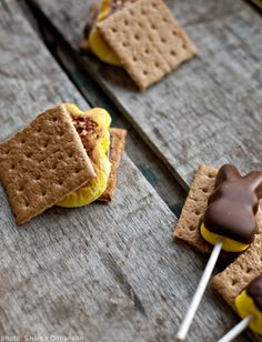 Peeps s'mores recipe #Easter #DIY
