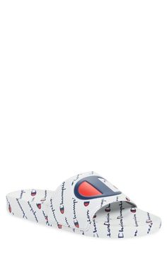2d455ddad Champion Ipo Repeat Sports Slide In White. Slide SandalsRepeatChampion
