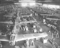 Imperial Japanese Army - Fighter Aircraft factory in WW2