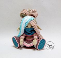 Single Crochet (вяжем куколок вместе) | VK