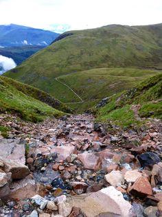 Ben Nevis path June 2012