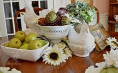 Country Centerpiece  http://lovelylivings.com/2015/08/28/charming-country-centerpiece/