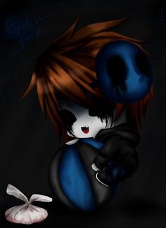 eyeless jack.... *Grabs the little eyeless Jack.* your sooooooo adorable