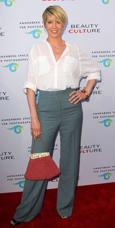 "Jenna Elfman Photos - Actress Jenna Elfman attends the Opening Night of ""Beauty Culture"" at The Annenberg Space For Photography on May 2011 in Century City, California. - Opening Night Of ""Beauty Culture"" At The Annenberg Space For Photography - Arrivals Long Pixie Cuts, Short Pixie, Short Hair Cuts, Pixie Bob, Cute Short Haircuts, Short Hairstyles For Women, Cool Hairstyles, Jenna Elfman, Pixie Styles"