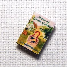 Needle Minder Miniature Book Anne of Green Gables 1 Inch by PinoyStitch on Etsy https://www.etsy.com/listing/207716495/needle-minder-miniature-book-anne-of