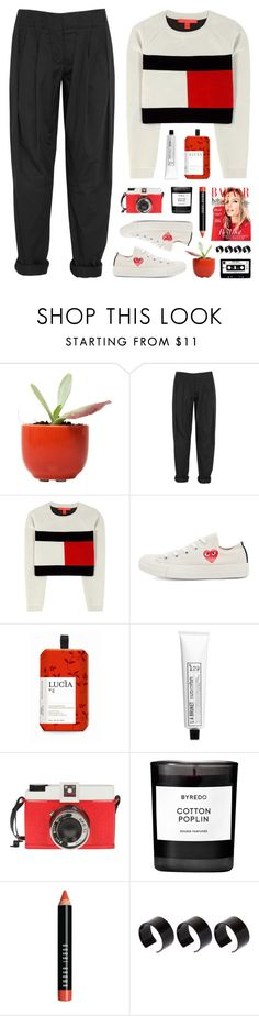 """burning pine trees"" by martosaur ❤ liked on Polyvore featuring Alexander Wang, Tommy Hilfiger, Play Comme des Garçons, Lucia, L:A Bruket, Edition, Byredo, Bobbi Brown Cosmetics and ASOS"