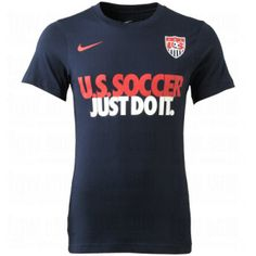 NIKE Mens USA Core Soccer T-Shirt