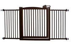 Amazon.com: Richell 150-Design One-Touch Pet Gate: Pet Supplies - $127.78 & Free Shipping by Amazon.com