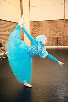 """With a dream of becoming the first hijab-wearing Muslim ballerina, 14-year-old Stephanie Kurlow recently launched a fundraising page in the hopes of pulling together more than $7,000 so that she can get her certification to open a performing arts program in her native Sydney because she said, """"I don'"""