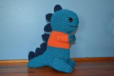 Cute Dino Amigurumi Pattern