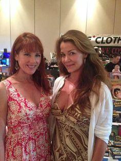 Patricia Tallman and Claudia Christian