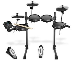 Buy Alesis Turbo Mesh Electronic Drum Kit, from Dawsons Music. Free Standard Delivery on online orders over Electric Drum Set, Digital Drums, Modern Drummer, Cable Drum, Drum Pad, Toms, Electronic Kits, Steel Racks, Drum Machine