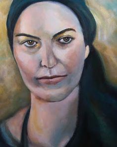 ΦΩΤΕΙΝΗ ΖΩΓΡΑΦΙΚΗ_ Φωτεινή Μάμαλη: Γυναικείο πορτραίτο