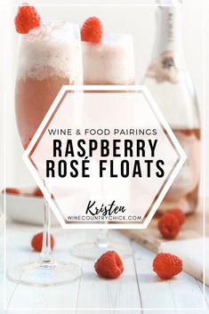 Ice cream floats aren't just for kids! Check out my raspberry rosé floats recipe, which is perfect for parties, celebrations, and entertainment. Bridal Shower Desserts, Party Desserts, Party Drinks, Sweet Desserts, Winery Tasting Room, Wine Tasting Party, Wine Parties, Wine Ice Cream, Ice Cream Floats