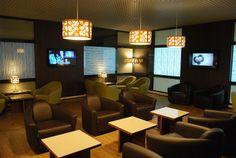 Airport lounge. Sarajevo, Bosnia-Herzegovina