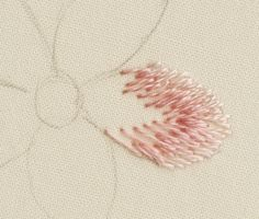 Crewel Embroidery Tutorial adding the next color to the thread painting Embroidery Designs, Crewel Embroidery Kits, Types Of Embroidery, Learn Embroidery, Embroidery Needles, Ribbon Embroidery, Cross Stitch Embroidery, Embroidery Supplies, Embroidery Companies