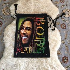 New Bob Marley Bag Got it as gift from cruise. Never used. Nice bag with drawstrings Bob Marley Accessories