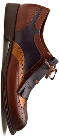 I actually like the Fluevog version of this shoe better but these are very snazzy. http://berryvogue.com/mensfashion - shoes dress mens, online shoes for mens, discount mens dress shoes