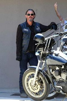 Chibs!   I really love the finger in the background!! :)