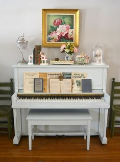 Been looking for a white piano . . . now I can do it myself