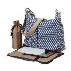 A trendy diaper bag for the fashion-forward mom.