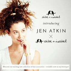 Jen Atkin has arrived to my boutique! Check out metallic finishes + #hairbling convertibles ALL under $50