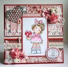 magnolia tilda valentine card - Google Search