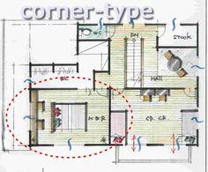 書斎のレイアウトと広さ Floor Plans, Diagram, Floor Plan Drawing, House Floor Plans