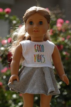 Good Vibes Crop Top from Emerald Doll Clothing