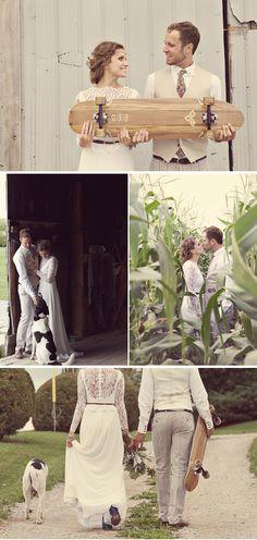 Relaxed, Bohemian Barn Wedding in Canada | WeddingWire: The Blog