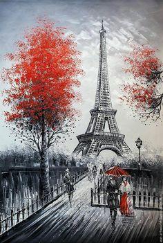 Eiffel Tower Lamp, Eiffel Tower Painting, Romantic Paris, Beautiful Paris, Artistic Wallpaper, Chanel Art, Dancing Drawings, Paris Painting, Cartoon Wallpaper Iphone