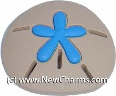 Blue Sand Dollar Sanddollar Shoe Snap Charm Jibbitz Croc Style New Charms. $0.99. Compatible with many clogs and wristbands.. A great way to show your style and personality.. Fun Shoe Charm.. Save 80% Off!