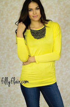Plain Yellow Dolman