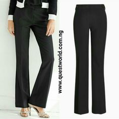 http://www.questworld.com.ng/product/Boot-Cut-Trousers-Next size 8 10 12 #6500 Pay on delivery within Lagos. Nationwide delivery