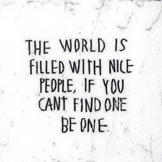 Be one!!!