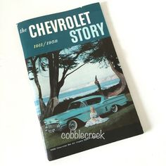 The Chevrolet Story 1911 1958 Booklet Chevy #vintagecars #chevy