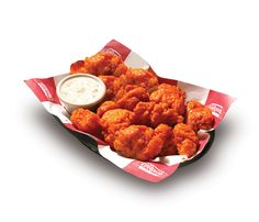 Mmmmm.... Boneless wings...