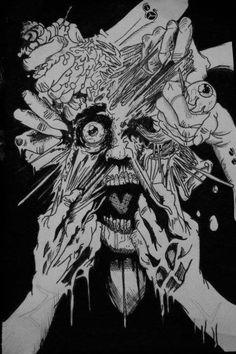Horror ilustration