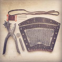 [ ] May the assembly begin - Lagertha's Bracer _____________________________________________________________ Viking Cosplay, Viking Costume, Renaissance Costume, Cosplay Diy, Knight Costume, Larp, Lagertha Costume, Vikings Lagertha, Viking Armor