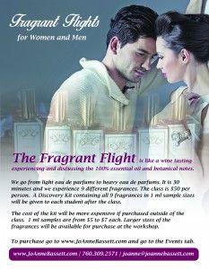 Fragrant Flights by JoAnne Bassett at www.joannebassett.com
